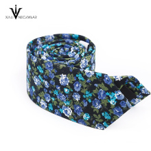 Colorido India Paisley Mens Cotton Necktie Proveedor China