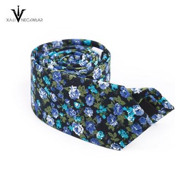 Colorido India Paisley Mens Cotton Necktie Proveedor China
