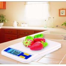 Escala de cozinha digital com retroiluminação B07