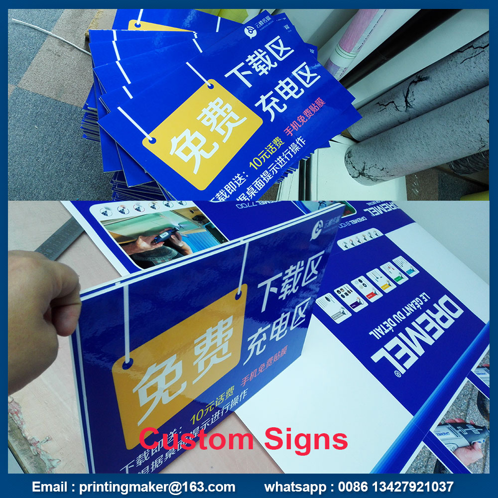 advertising pvc sign board