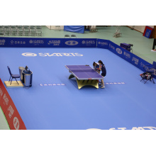 Match court of Table tennis sports floor