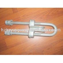 hauban fil montage fil clip câble d'alimentation montage de ligne électrique câble clip pôle de puissance matériel raccord