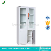armário de arquivamento lateral do metal da mobília do preço justo do aço