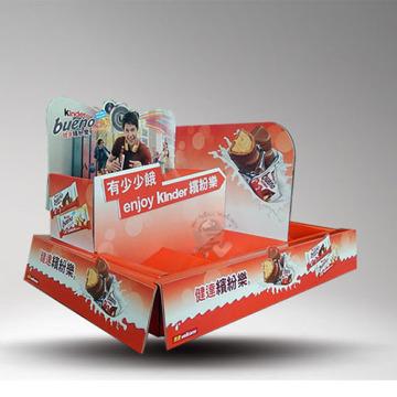 Schokolade Süßigkeiten Karton Zähler PDQ Display