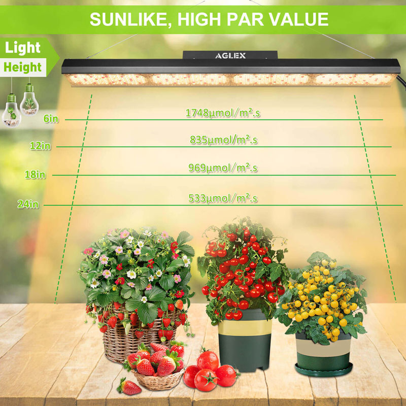 high ppfd led grow light