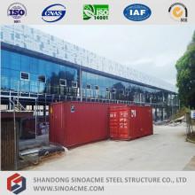 Edificio de oficinas de estructura de acero prefabricado