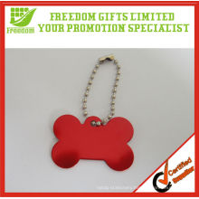 Promotional Bone Shaped Metal Dog Tag