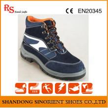 Китай Кожа замши Кожа Dewalt безопасности обувь RS702