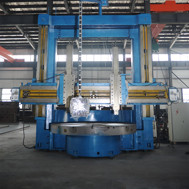 single and double columns vertical lathes
