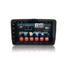 Kaier Fabrik Quad-Core. volle Note Android 4.4 Auto DVD für VW Santana + OEM + 1080P DVR + TPMS