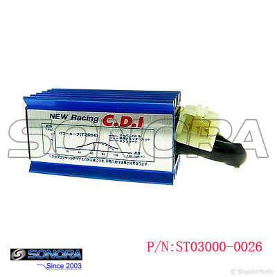 ST03000-0026 RACING CDI FOR GY6 50cc 125CC