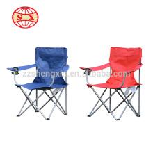 Cadeiras de praia personalizadas dobráveis com armação de metal