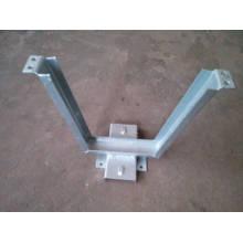 La parenthèse galvanisée chaude de V plongent la parenthèse matériel / accessoires de puissance