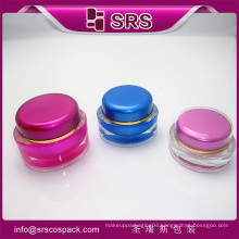 SRS beautiful packaging Cream For Skincare Use And luxury cosmetics jar