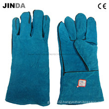 Cowhide Leather Industrial Welding Gloves (L011)