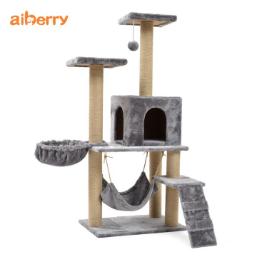 Aiberry Cat Scratch Climbing Tower Muebles Condo