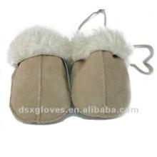 Детские зимние перчатки для овчины