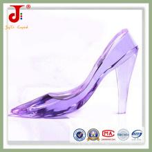 Chaussures de décoration artisanales en cristal violet (JD-CS-102)