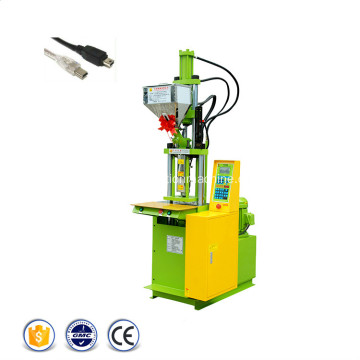 USB Plug Cable Vertical Injection Molding Machines