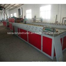 Пластмасса PVC профилирует производственную линию машины Штранг-прессования