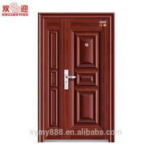 China Design Stahlfront außen feuerfest Tür