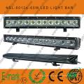 Barre lumineuse à LED hors route 60W 20 pouces, 6000k, barre lumineuse à LED 5100lm hors route