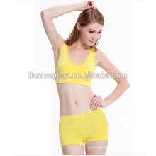 2016 Nylon Shorts Womens Seamless Bra & Brief Sets