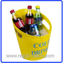 Cubo de hielo plástico de cerveza popular (R-IC0144)