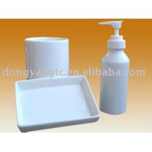 accesorios de baño de hotel de cerámica
