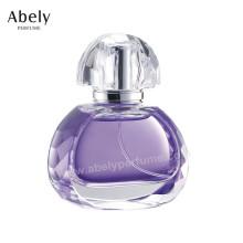 Botella de perfume de cristal hecha a medida de ODM / OEM con el espray y el atomizador originales