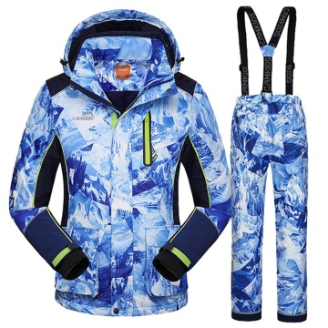 Estampado con traje ms ski