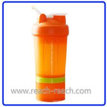 Bouteille de plastique OEM protéine Shaker (R-S060)