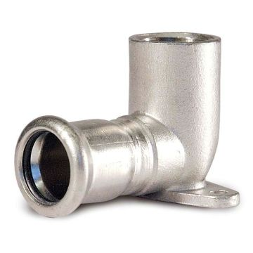 15 * 1/2 En 316L Монтажная плита для труб (женский X-пресс)