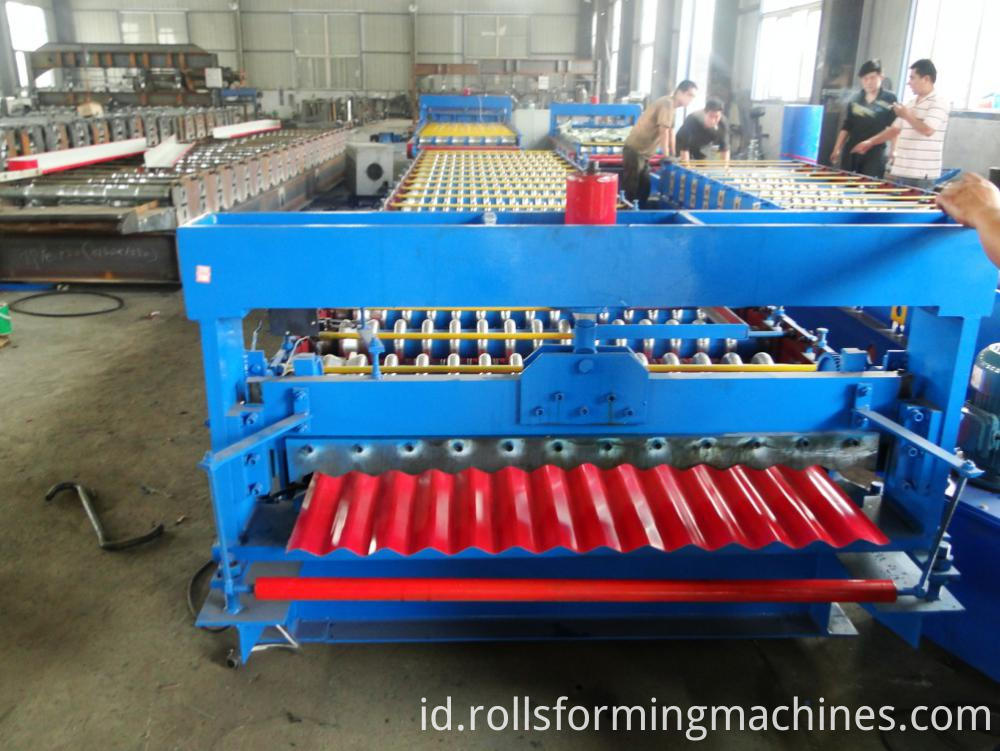 corrugated roll forming machine 3
