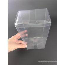 Caixa de embalagem plástica competitiva do PVC / PP / PET do fabricante de China (caixa de dobramento)