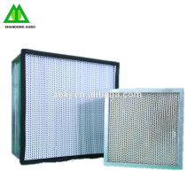 Industrial h13 hepa air filters h14 flow laminar box air hapa filters