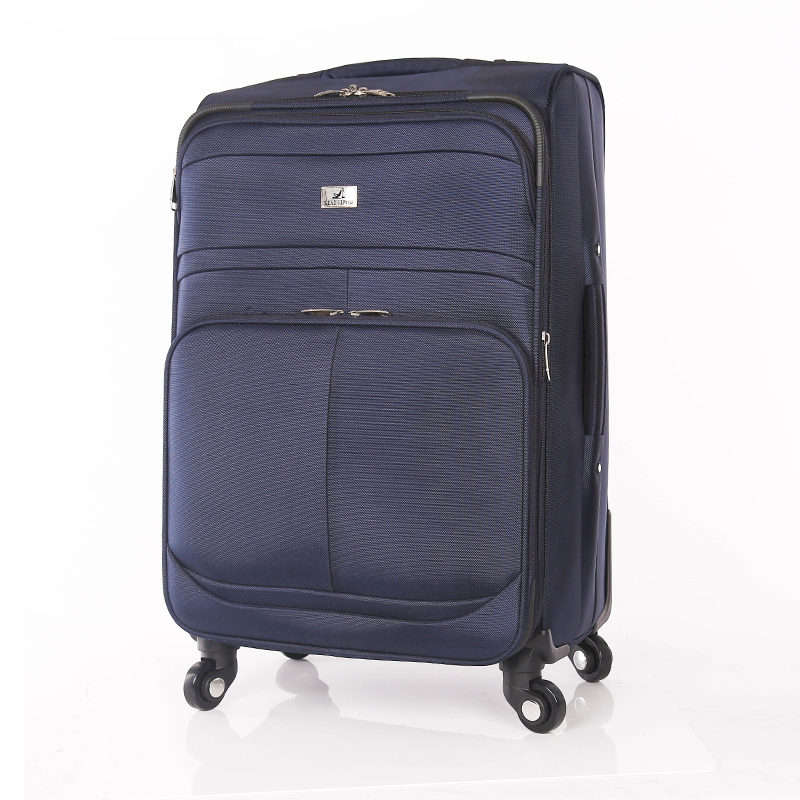 leisure style fabric luggage trolley