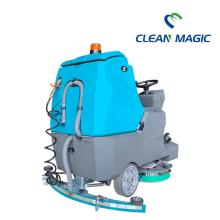 электрическая машина для очистки бетонных полов