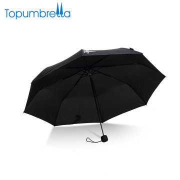 custom printed rain umbrellas small promotional 3 fold mini umbrella