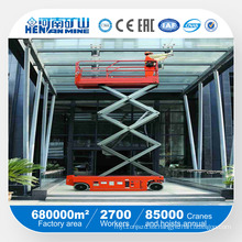 Henan famoso Mini Scissor Lift