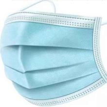 Mouth Nose Cover Respirator Protector Blue Face Mask