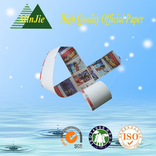 Offsetdruck Kompatibles Druck- und Einseitenbeschichtungsseiten-Thermo-Papier Jumbo-Rollen