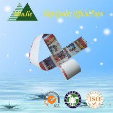 Offset Printing Compatible Printing and Single Side Coating Side Thermal Paper Jumbo Rolls