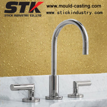 Double Handles Faucets with Chrome Plating