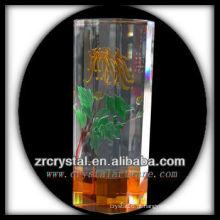 Vaso de cristal agradável L013