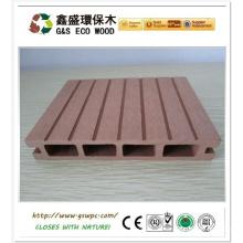 Hochwertige Anti-Warping Holz Kunststoff Composite / Wpc Decking, billige Decking / China