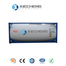 Refrigerant gas R23 Trifluoromethane ISO TANK packing