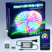 Lichtstreifen 5050 Bluetooth 5 Meter eingestellt
