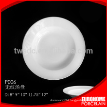 """8"""" banquet durable soup dishes for five star hotel"""