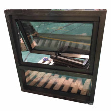 North America hot sale product window top hung toilet window double tempered glass aluminum top hung window